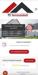 PS-Terrassendach Mobile